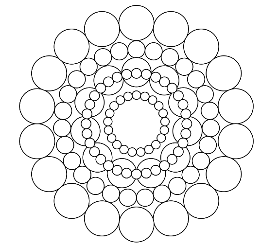 - Circles Mandala Coloring Page Mandala Coloring Pages, Mandala Coloring,  Abstract Coloring Pages