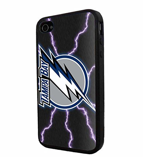 NHL HOCKEY Tampa Bay Lightning Logo, Cool iPhone 4 / 4s Smartphone iphone Case Cover Collector iphone TPU Rubber Case Black 9nayCover http://www.amazon.com/dp/B00URERN9K/ref=cm_sw_r_pi_dp_Umrsvb145CNZ9
