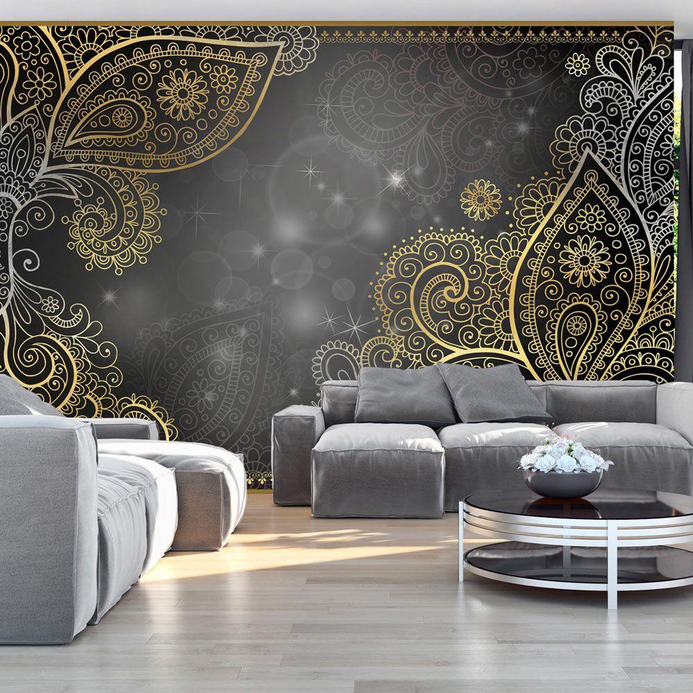 details zu fototapete ornamente abstrakt vlies tapete wandbilder 3 farben f a 0146 a b vlies. Black Bedroom Furniture Sets. Home Design Ideas