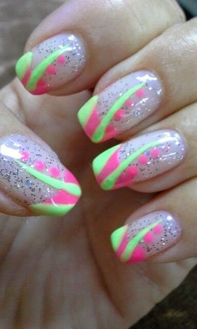Gel Nail Designs For Summer 2014 Nails Pinterest