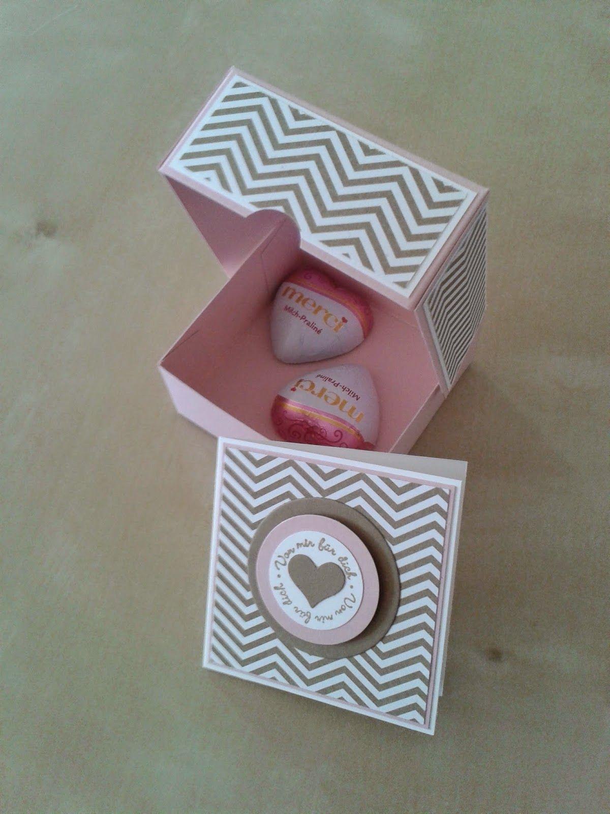 HerzWerk: : Anleitung für die Geschenkebox... | Bomboniere ...