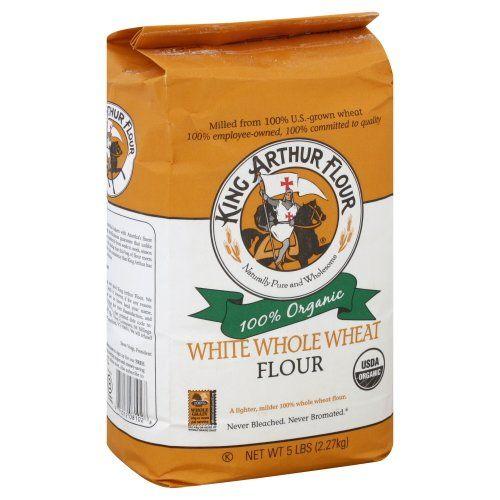 King Arthur Flour, Og, White Whl Wheat King Arthur Flour-- great for fluffy pancakes