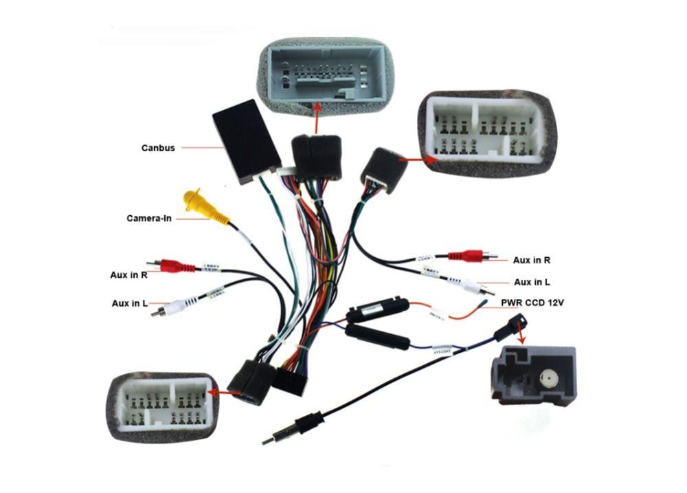 Joying wiring ISO harness for Honda Civic car radio power