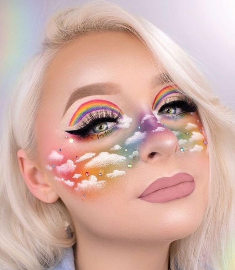 Maquillage Halloween : 100+ idées pour le visage et les mains