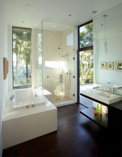 Fabulosos Diseños de Baños con Tina o Bañera baños Pinterest - Baos Modernos Con Ducha Y Baera