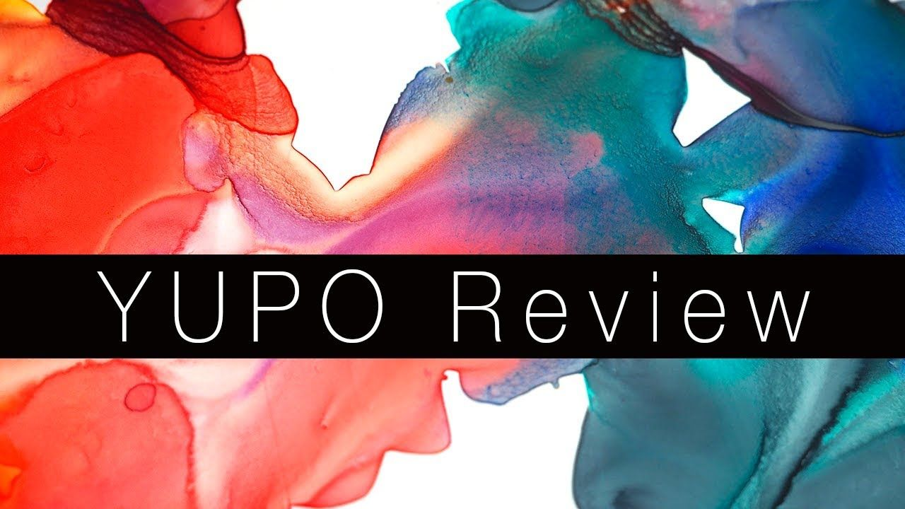 Non Absorbent Watercolor Paper Yupo Review Yupo Paper