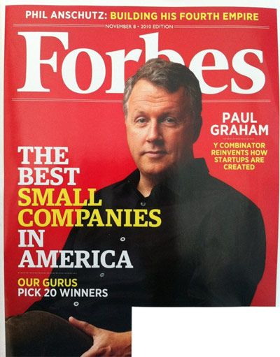 Paul graham y combinator founder forbes cover model paul