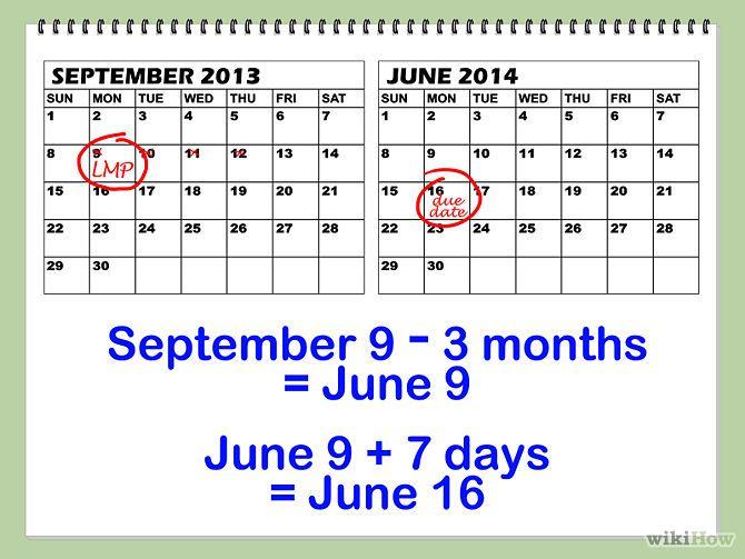 Calculator due date