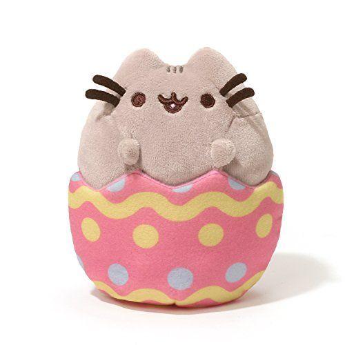 "Gund Pusheen Easter Egg Plush, 4.25"" GUND https://www.amazon.com/dp/B01GSYAZVU/ref=cm_sw_r_pi_dp_x_rALIybJPV4ZFB"