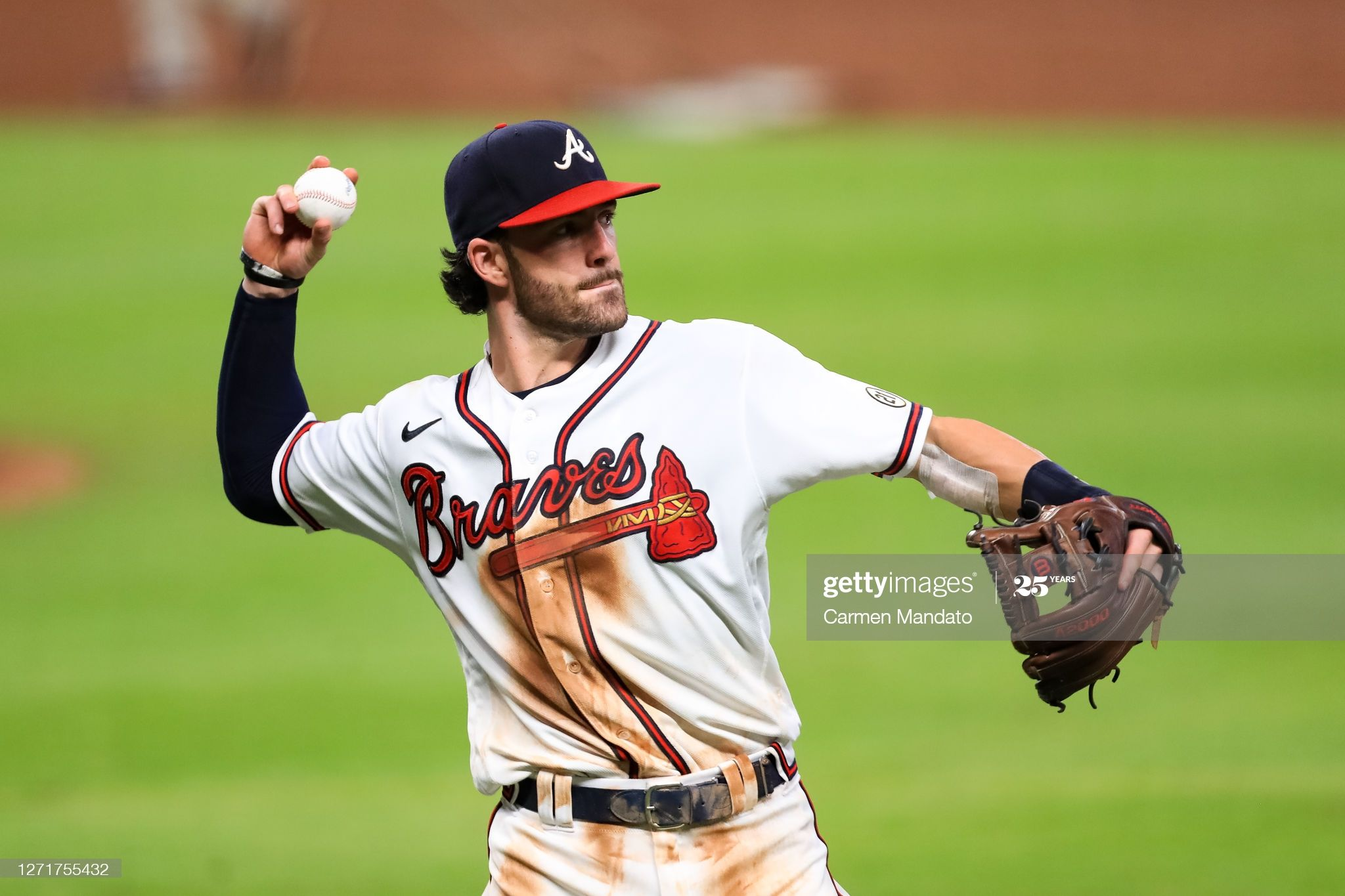 Dansby Swanson Of The Atlanta Braves In Action During A Game Against In 2020 Atlanta Braves Dansby Swanson Braves