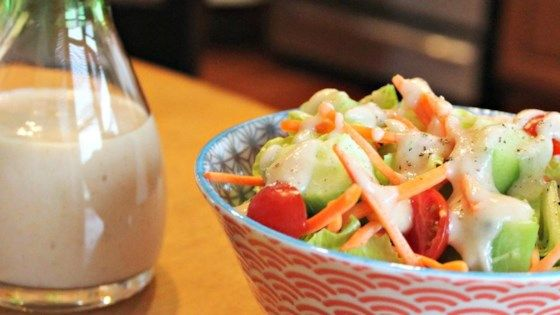 JAPANESE RESTAURANT-STYLE SALAD DRESSING | Rice wine