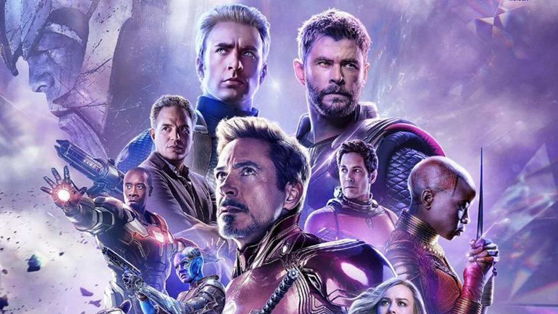 New avengers endgame footage was screened at cinemacon and the heroes are racing to thanos