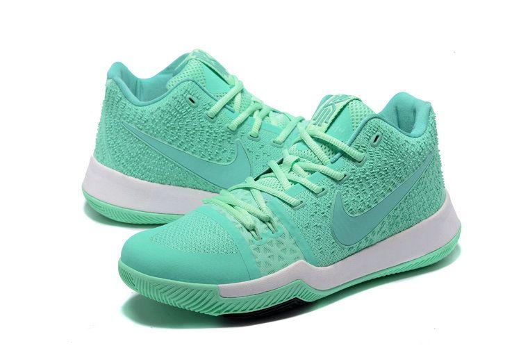 various colors f75fd 3bc68 Original Aqua Blue Tiffany Blue Kyrie 3 Mens Basketball Shoes 2018 On Line