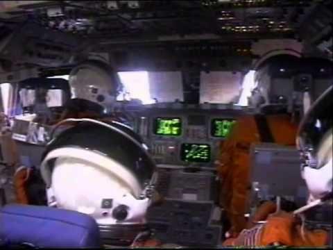 space shuttle landing onboard - photo #3
