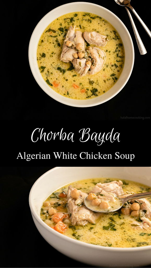 Chorba bayda algerian white chicken soup recipe white chorba bayda algerian white chicken soup algerian recipesalgerian foodhalal forumfinder Images