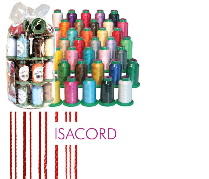 Machine Bobbins And Thread 83920 Isacord Embroidery Thread 35