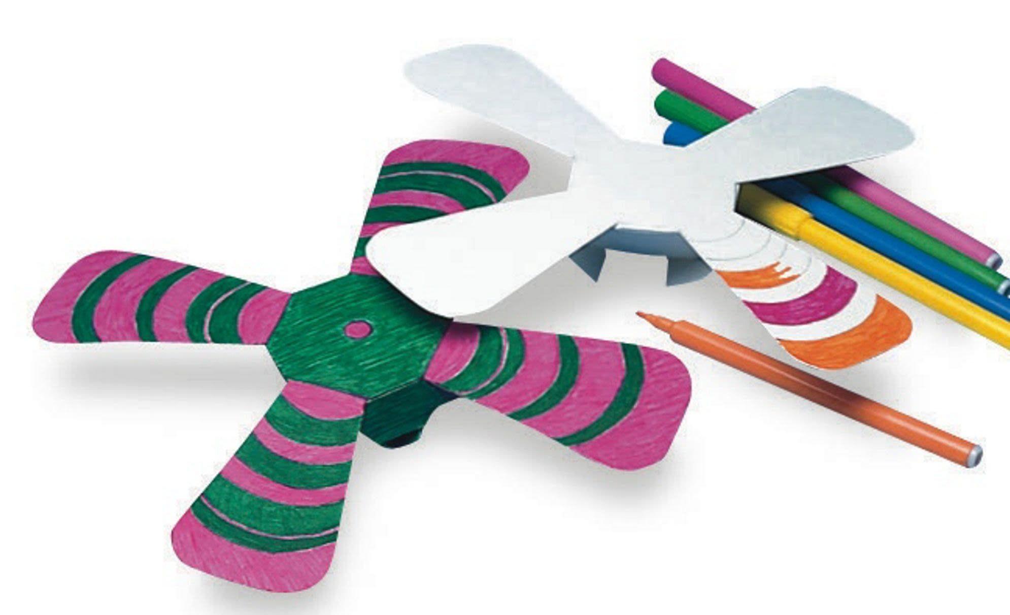 Color n' Throw Boomerang Craft Kit Crafts, Craft kits