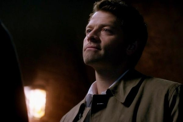 "Dean: ""So you're saying we're both a couple of dumbasses."" Cas: ""I prefer the word trusting. Less dumb, less ass."" ""Road Trip"""