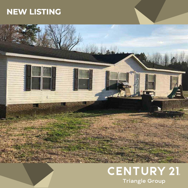 Just Listed On W Nc 97 Highway 119 000 Https Www Century21trianglegroup Com Location Location This Ma Manufactured Home North Carolina Homes Open Concept