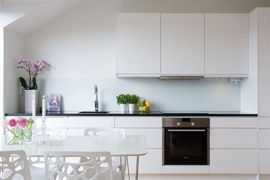 Resultado de imagen para cocinas pequeñas con espacio abierto ...