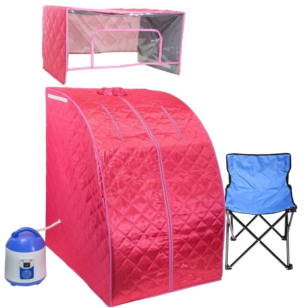 Pink Personal Sauna And Steam Room Portable Sauna Spa Rooms Tent Reviews