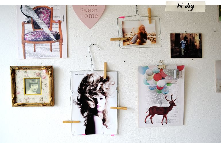 HI DIY | Photo hanger
