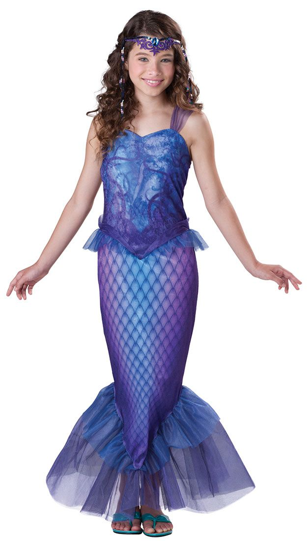 marmaid costume | Mysterious Mermaid Costume - Kids | Halloween Fun ...
