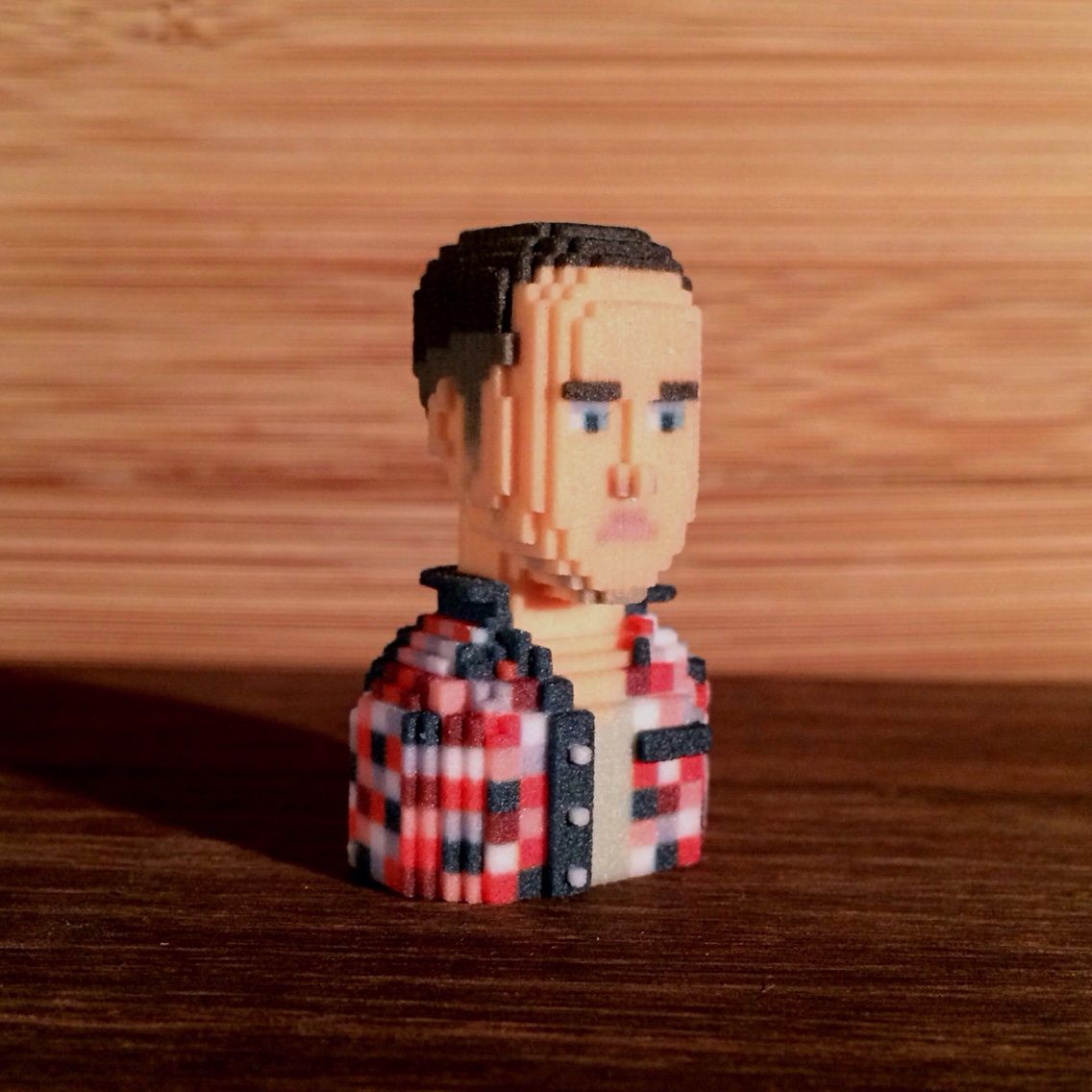 3D printed Avatar portraits by LEBLOX