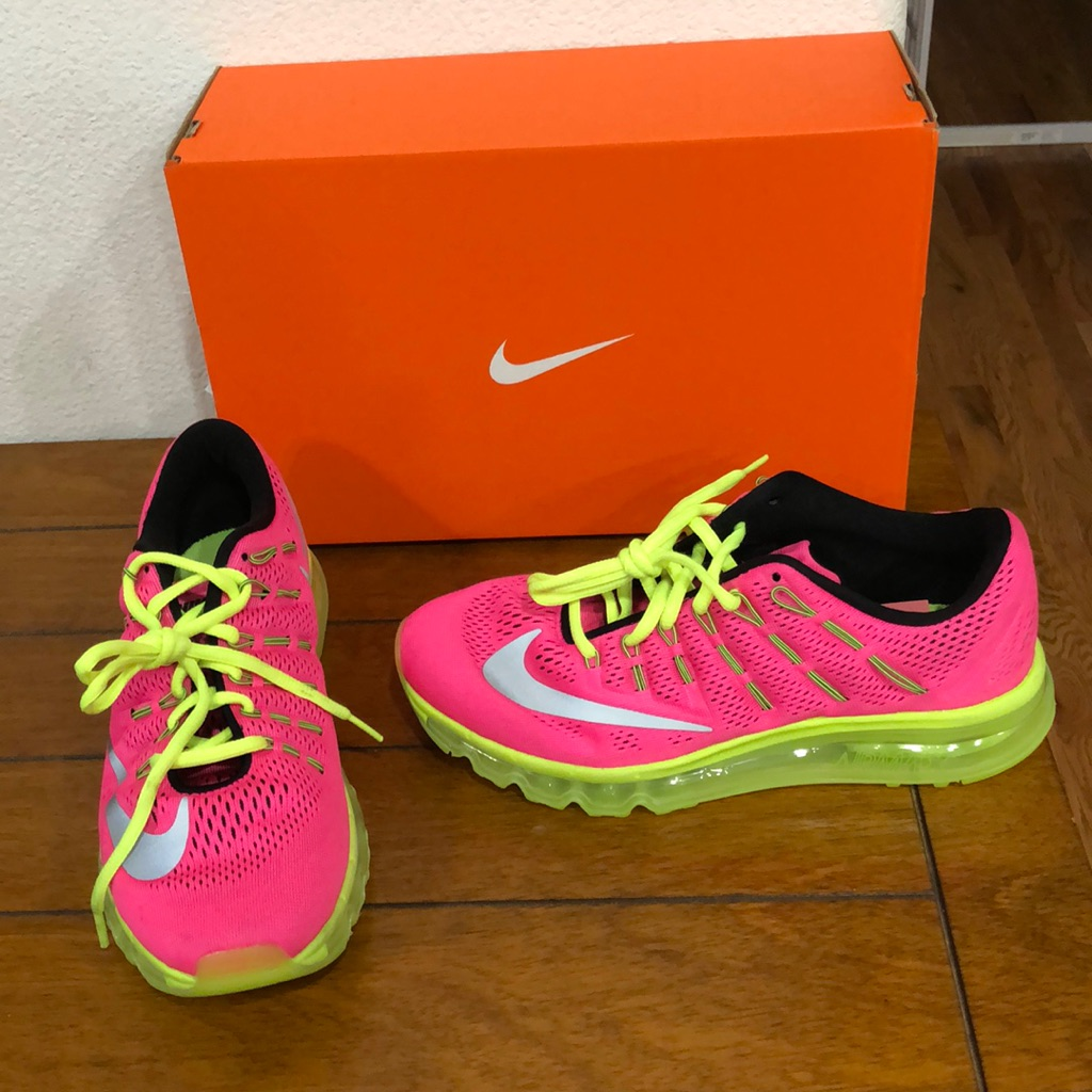 Nike Shoes | Nike Air Max | Color: PinkYellow | Size: 6.5y
