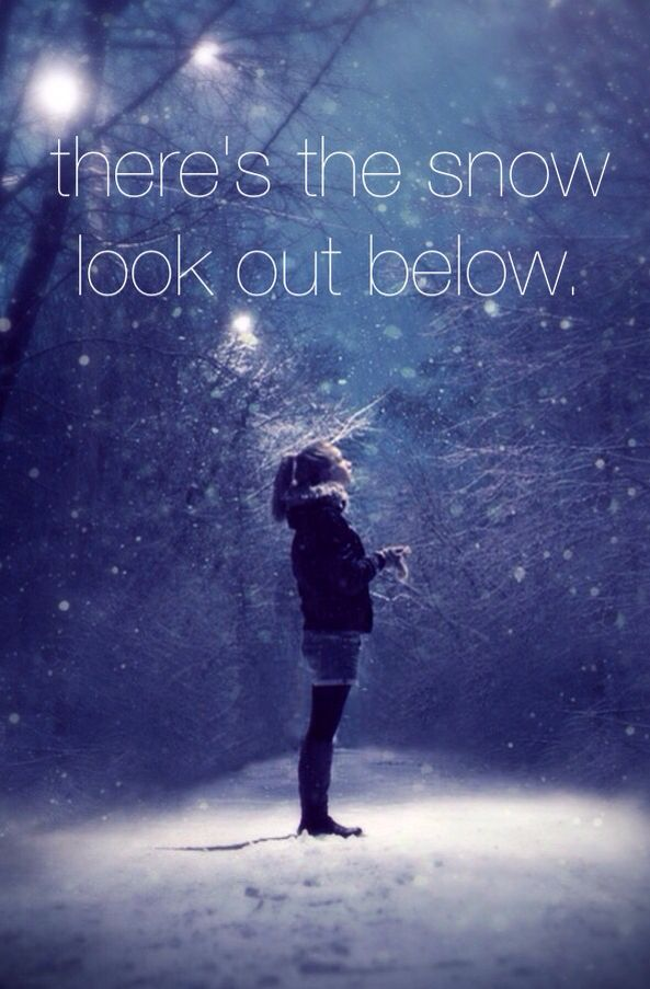 """Peppermint Winter - Owl City """"..and bundle up, cause here it comes...run outside, so starry eyed.."""""""
