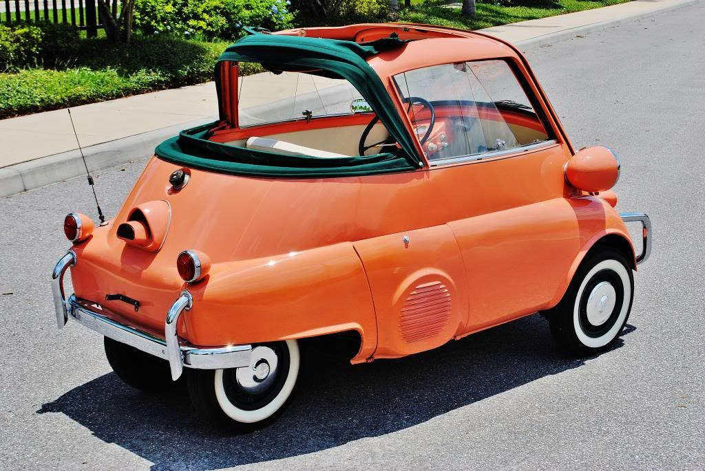 1957 bmw isetta 300 convertible autres vehicules other vehicles. Black Bedroom Furniture Sets. Home Design Ideas