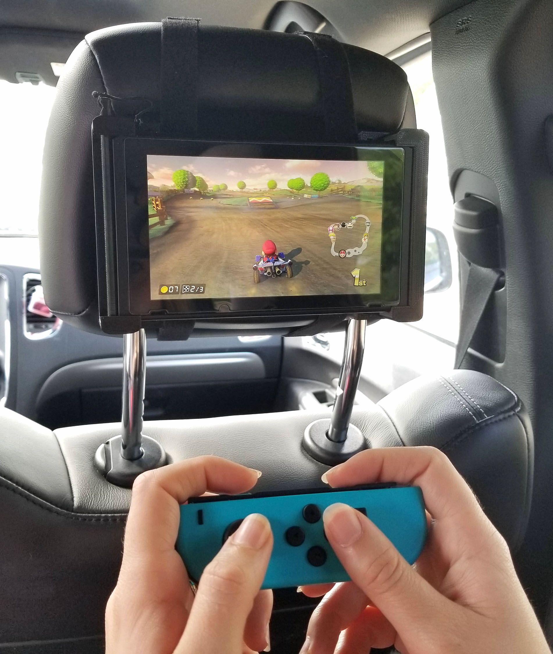 Nintendo Switch Car Headrest Mount (With images