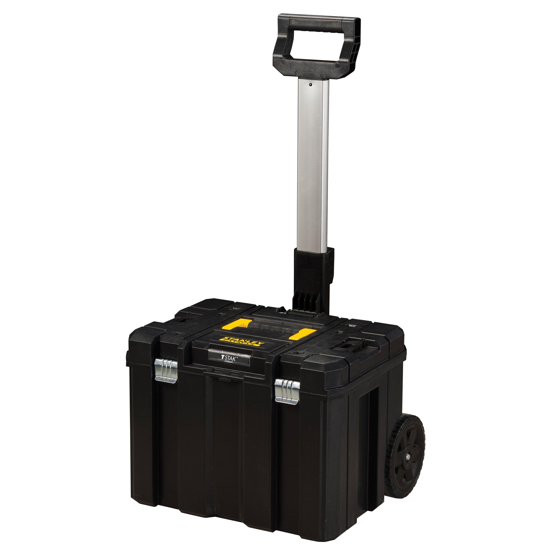 Caisse à Outils Grande Capacité Coffre Mobile Tstak Fatmax