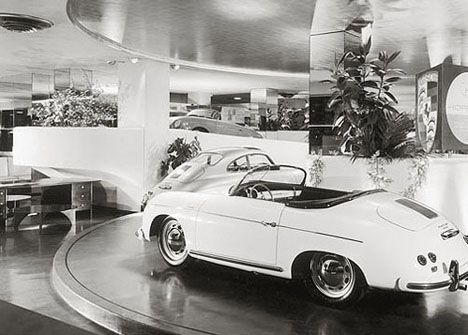 Max Hoffman Designed The Porsche Logo Too Well Not Exactly Frank Lloyd Wright Design Frank Lloyd Wright Guggenheim Lloyd Wright