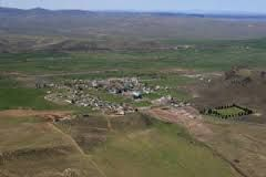 Jordan Valley, OR - Where I graduated High School, a whopping 12 kids in my graduating class :)