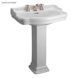Beautiful Cimarron Pedestal Sink
