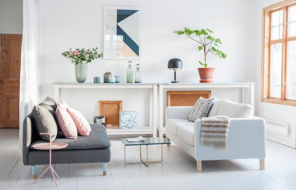 Modern Living Room - Bemz via Pretty Haute Mess