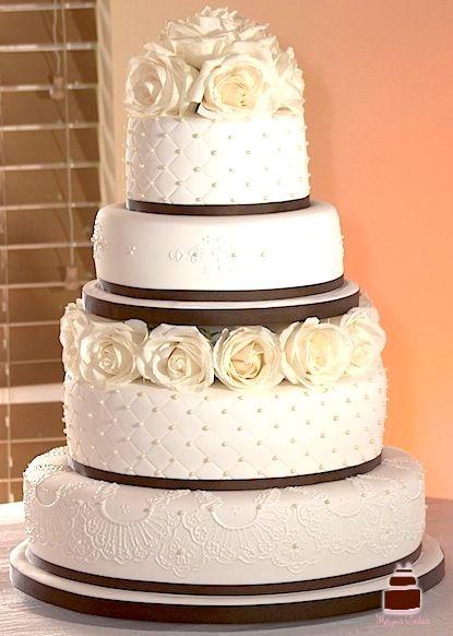 Romantic Wedding Cakes by MayusCakes servicing South Florida: Miami, Broward, Palm Beach, Naples...
