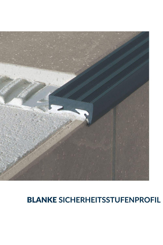 Blanke Sicherheitsstufenprofil In 2020 Treppenstufen Fliesen Verlegen Treppe Fliesen