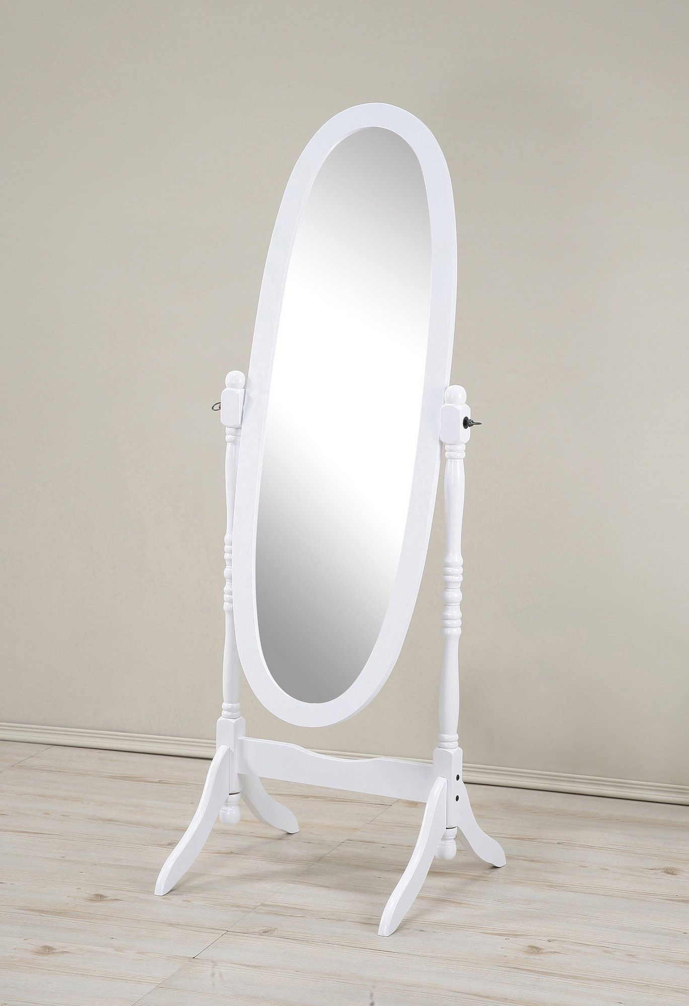 Jocelyn Oval Floor Mirror With Images Cheval Mirror