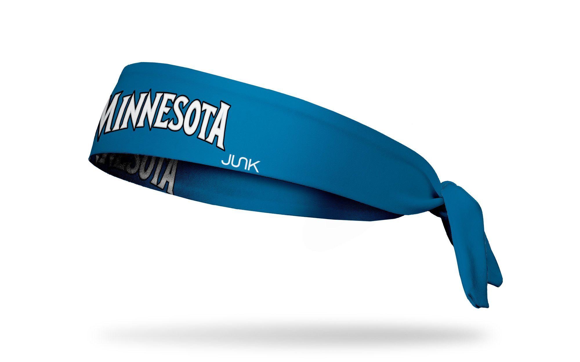 Minnesota Timberwolves Away Headband Headbands Wisconsin Flag