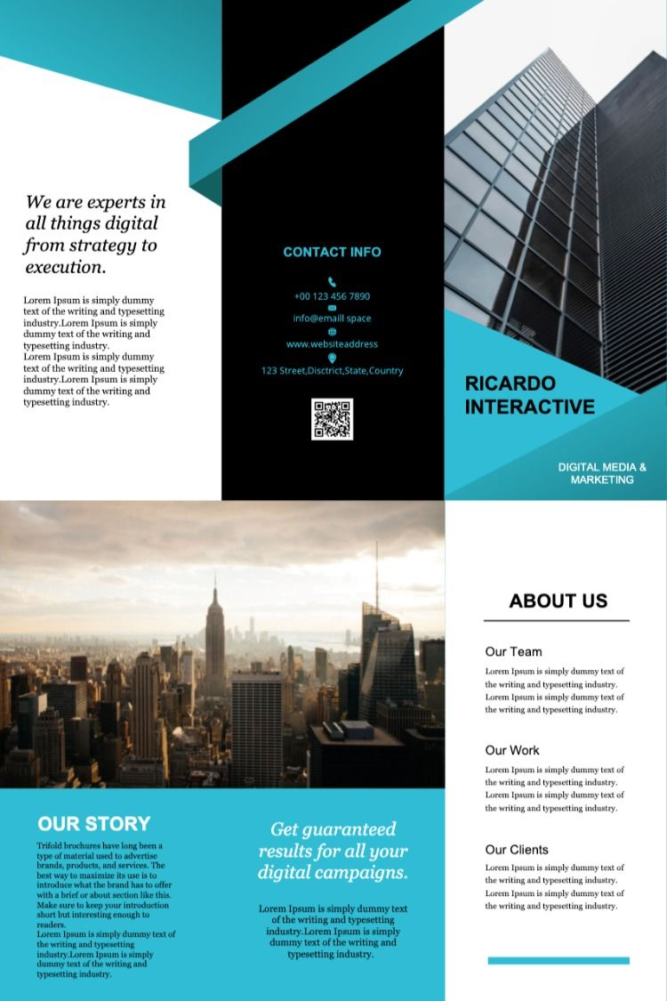 Drawtify S Brochure Template Make Design Type Setting Cool Pictures