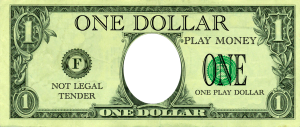 create your own fake money for playing 'shop'