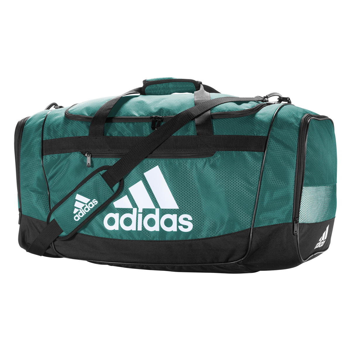 Adidas Defender Iii Small Duffle Green Adidas Bags Sporty