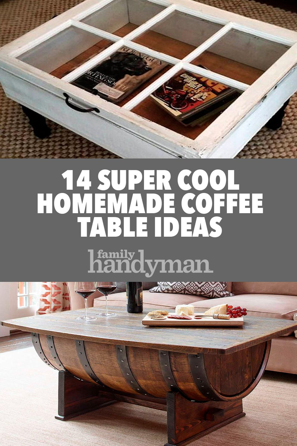 Unique Coffee Table Decor 14 Super Cool Homemade Coffee Table Ideas Diy Advice Blog