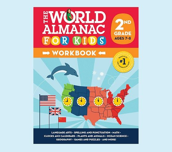 World Almanac Workbook - 2nd Grade | Pottery Barn Kids | Back To ...
