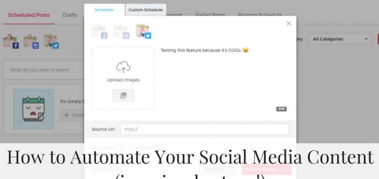 Dash of Social Schedule posts, Social media games