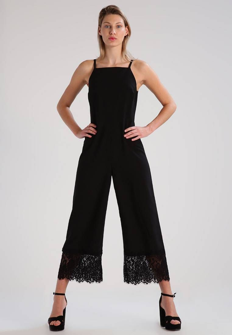 87acd96e181 RAVEN - Jumpsuit - black. Outer fabric material 100% polyester. outer leg
