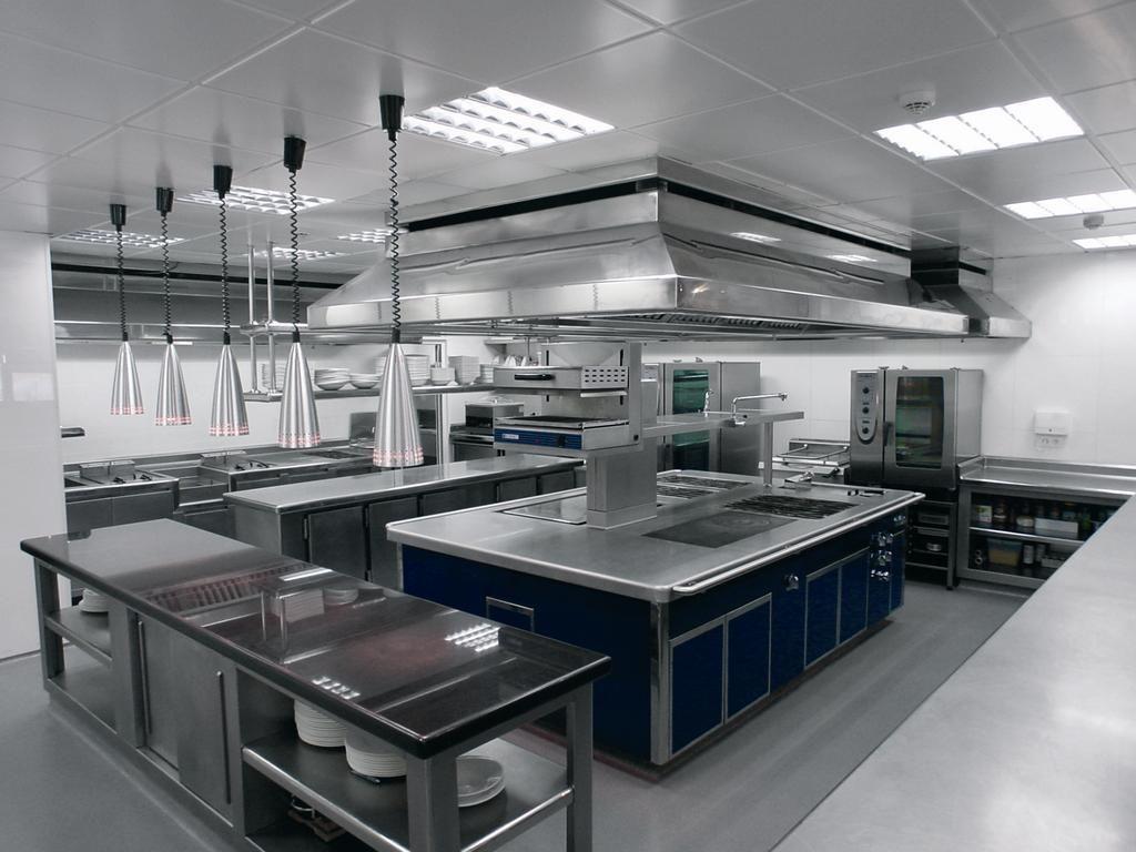 Resultado de imagen de cocina restaurante local grill for Cocinas industriales modernas