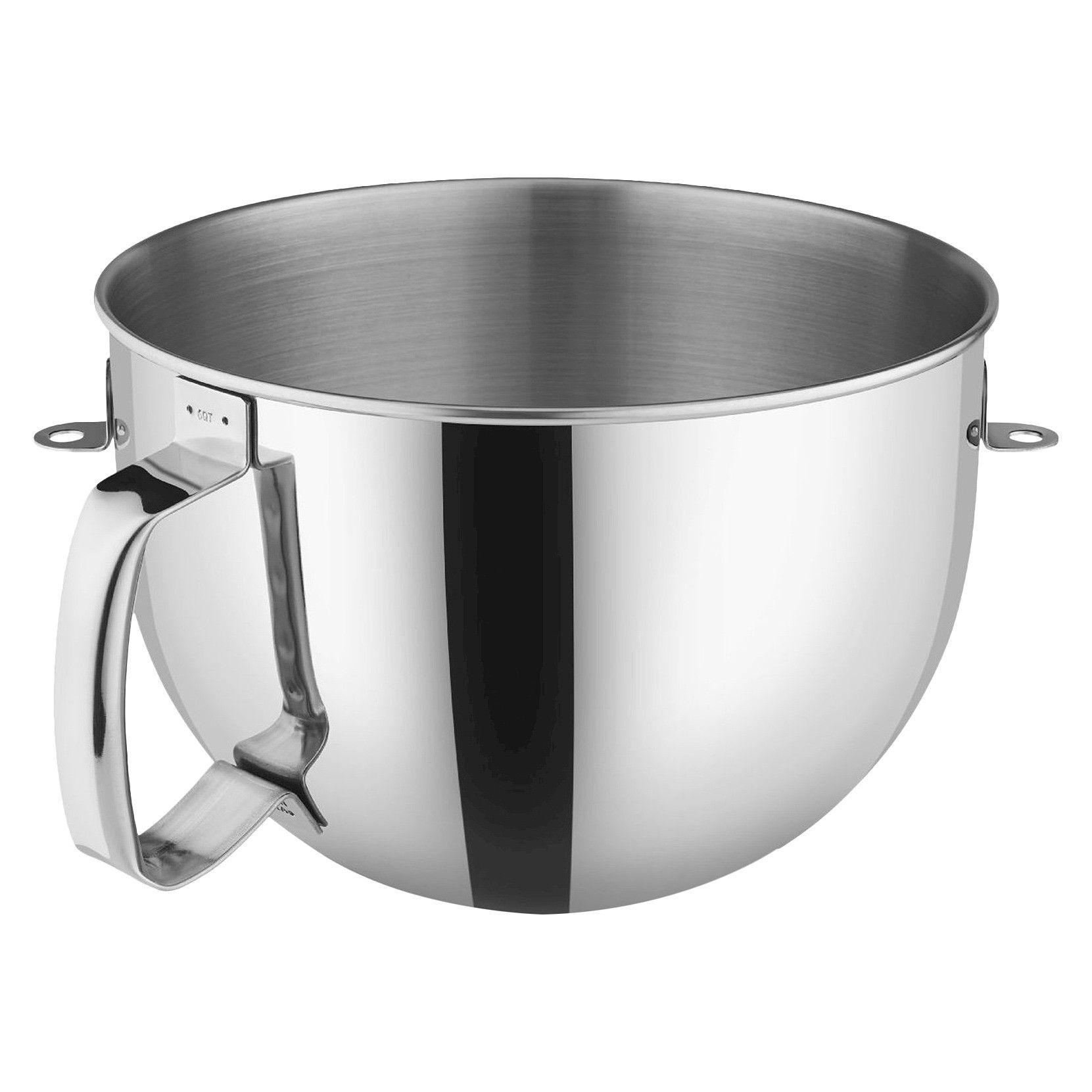 Kitchenaid 6qt bowllift polished stainless steel bowl